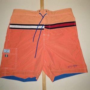 Tommy Hilfiger Large Swim Trunks Orange